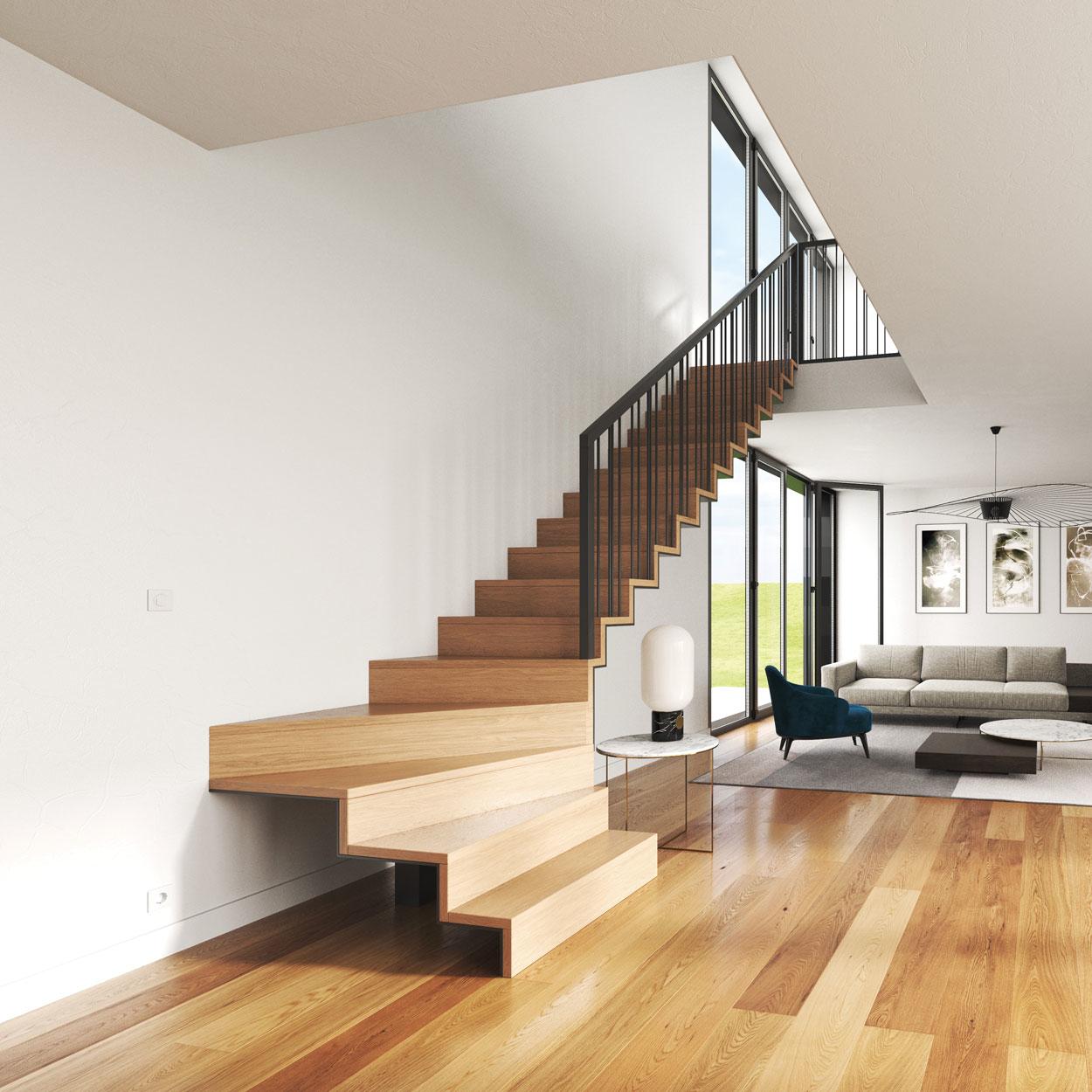 Escalier PLY