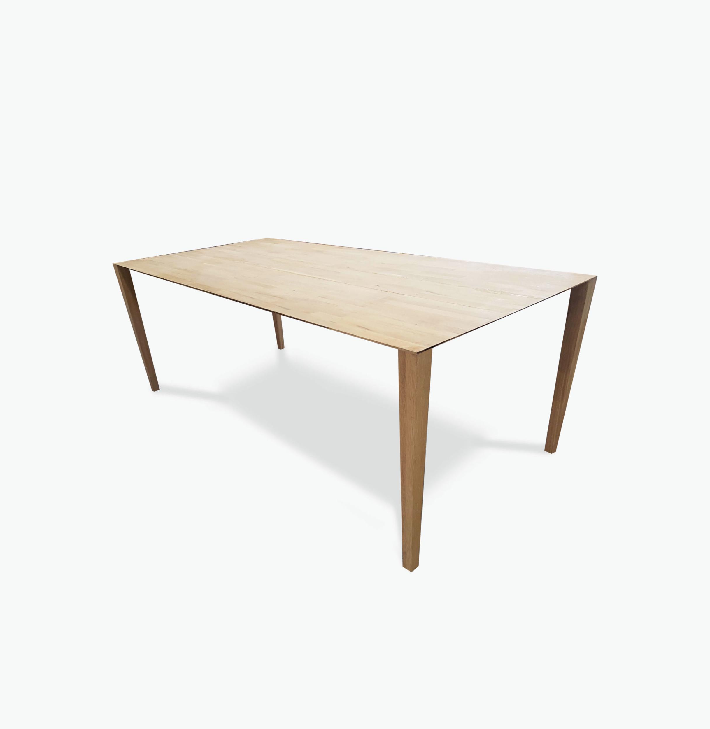 Table en bois Plane