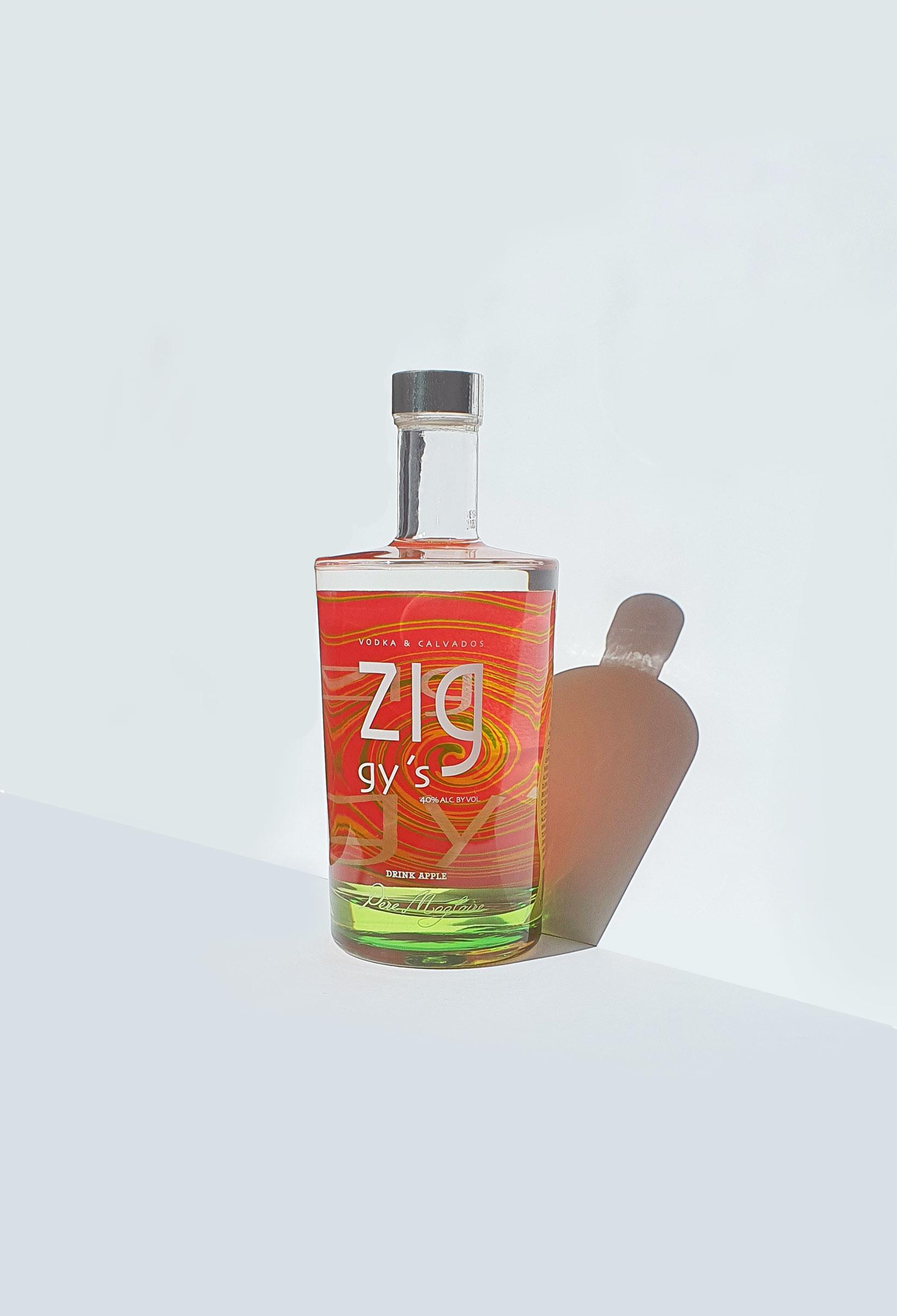 bouteille vodka calvados design A&P Sorigué